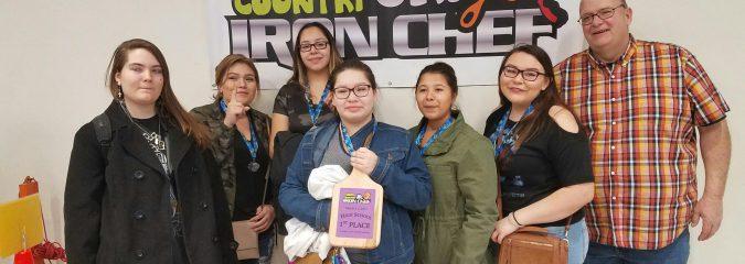 Salmon River Team Wins Junior Iron Chef Competition