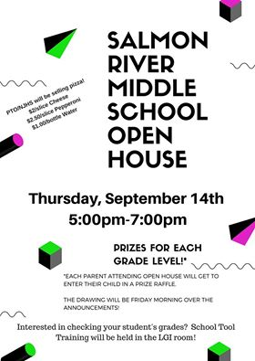 Salmon River Middle School Open House