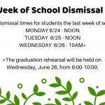 Dismissal Times