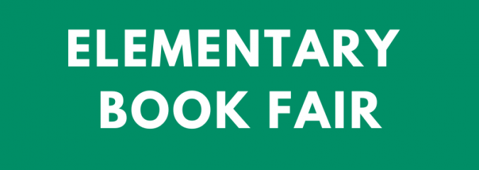 Elementary Book Fair Nov. 28 – Dec. 11